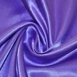 Атлас фіолетово-молочний ш.150