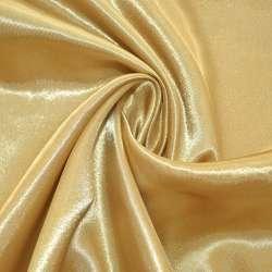 Атлас золотистий світлий ш.150