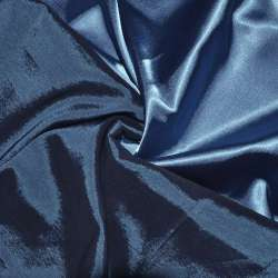 Стрейч атлас хамелеон голубой ш.150