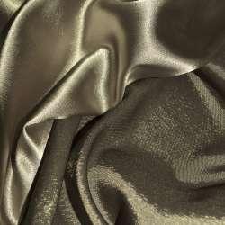 Стрейч атлас хамелеон шоколадный ш.150