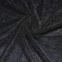 Велюр стрейч чорний ш.150