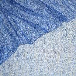 Гіпюр-павутинка синій (електрик) ш.150