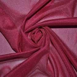 Тканина підкладкова трикотажна вишнева ш.156