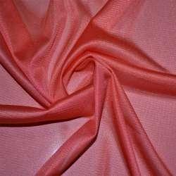 Тканина підкладкова трикотажна коралово-червона ш.155