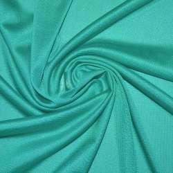 Тканина підкладкова трикотажна бірюзова ш.155