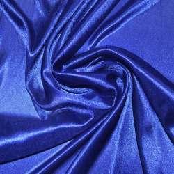 Тканина підкладкова трикотажна синя ш.150
