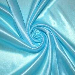 Тканина підкладкова трикотажна блакитна ш.158