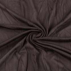 Сітка підкладкова тисне коричнева темна ш.135