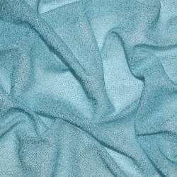 Трикотаж блакитний з метанітью ш.115