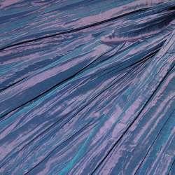 Тафта жатая фиолетово-розовая ш.130