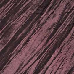 Тафта жатая бордово-розовая ш.130