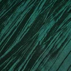 Тафта жата зелено-чорна ш.130