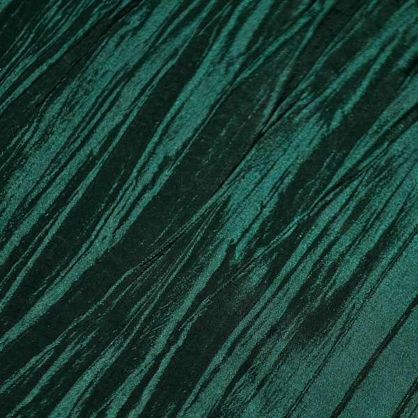 Тафта жатая зелено черная ш.130