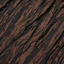 Тафта жатая коричневая темная ш.130