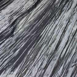 Тафта жатая темно серая ш.130
