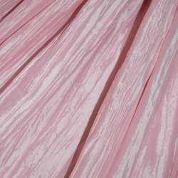 Тафта жатая розовая ш.130