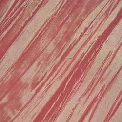 Тафта жатая серо-розовая ш.130