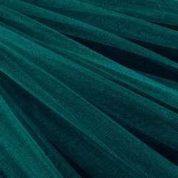 Еврофатин мягкий блестящий морская волна, ш.140