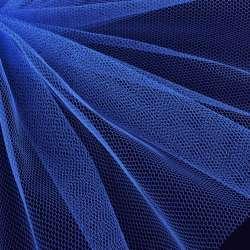 Фатин жесткий синий светлый ш.180