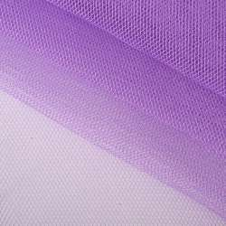 Фатин жесткий фиолетовый светлый ш.143