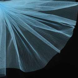 Фатін яскраво-блакитний ш.160