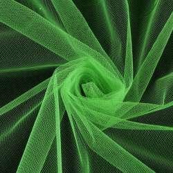 Фатин зеленый яркий, ш.160
