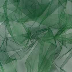 Фатин зеленый темный ш.160