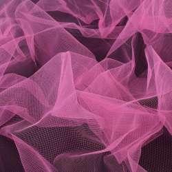 Фатин розовый яркий, ш.160