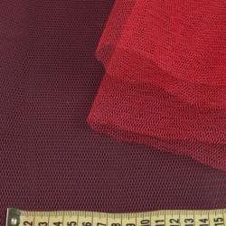 Фатин жесткий красный темный ш.180