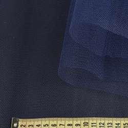 Фатин жесткий синий темный ш.180