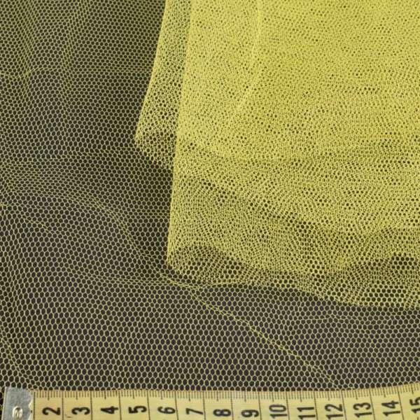 Фатин жесткий желтый ш.180