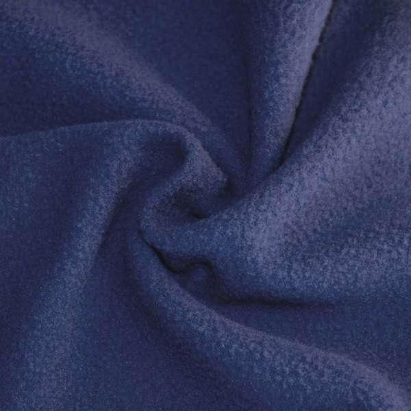 Фліс синьо сірий ш.165