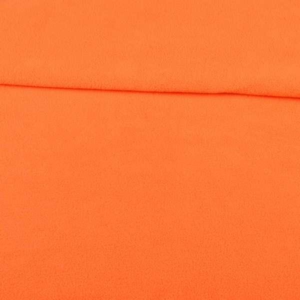 Фліс помаранчевий ш.160