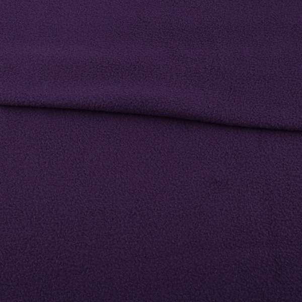 Флис темно фиолетовый ш.160