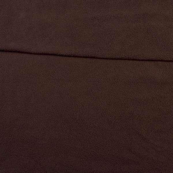 флис темно-коричневый ш.165