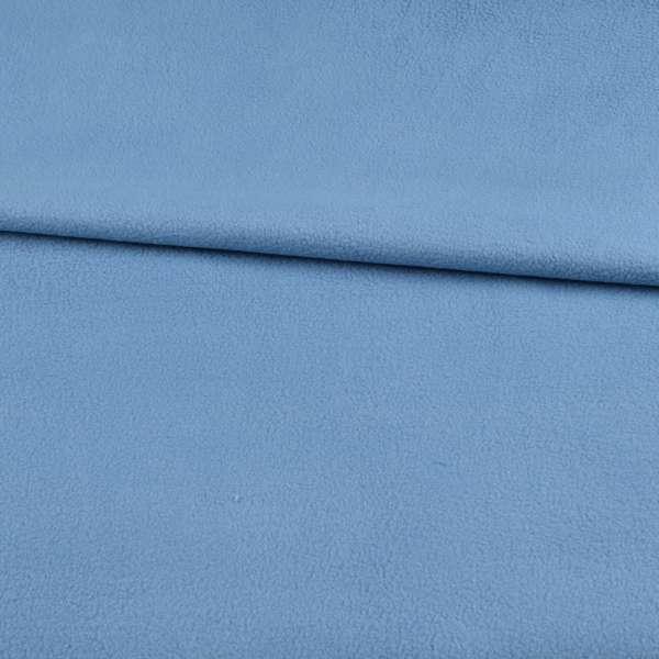 Фліс блакитний з синім відтінком ш.168
