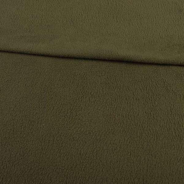 Фліс оливковий темний ш.160