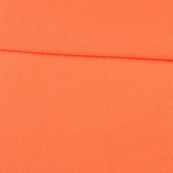 Фліс помаранчевий манго ш.160