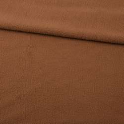 Фліс коричневий світлий ш.170