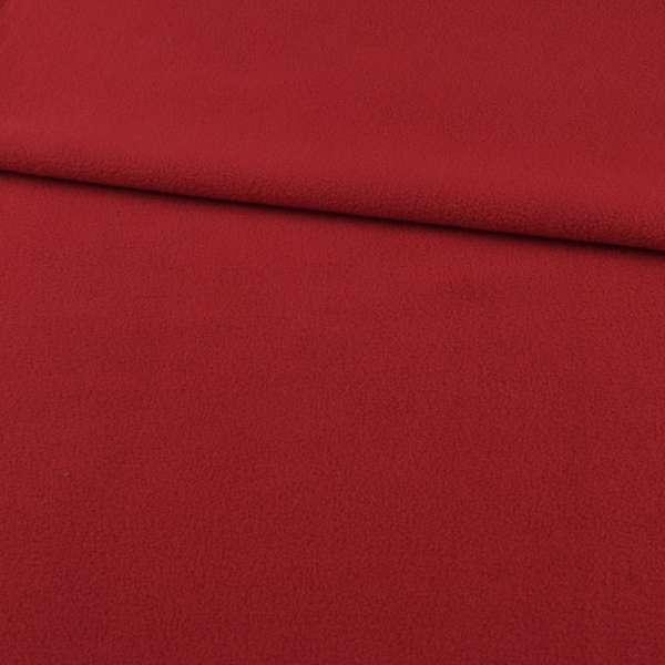 Флис красный ш.165