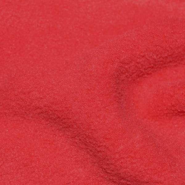 Флис кораллово-красный ш.160