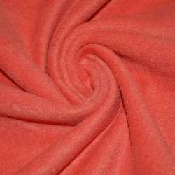 Флис кораллово-красный ш.170