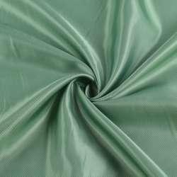 Віскоза підкладкова зелена світла діагональ, ш.142