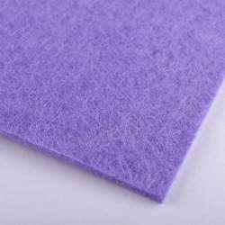 Фетр (для рукоделия) бледно-фиолетовый (2мм) ш.100