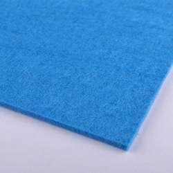 повсть (для рукоділля) синьо-блакитний (2 мм) ш.100
