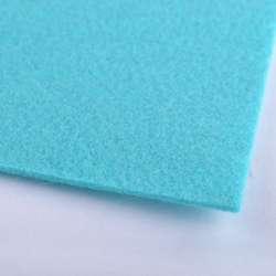 Фетр (для рукоделия) светло-бирюзовый (2мм) ш.100