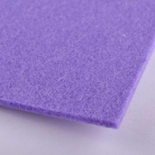 Войлок (для рукоделия) бледно-фиолетовый (3мм) ш.100