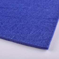 Фетр (для рукоделия) синий (3мм) ш.100