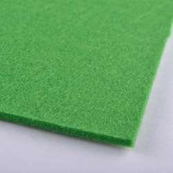 Фетр (для рукоделия) зеленый (весенний) (3мм) ш.100