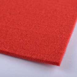 Войлок (для рукоделия) ярко-красный (3мм) ш.100